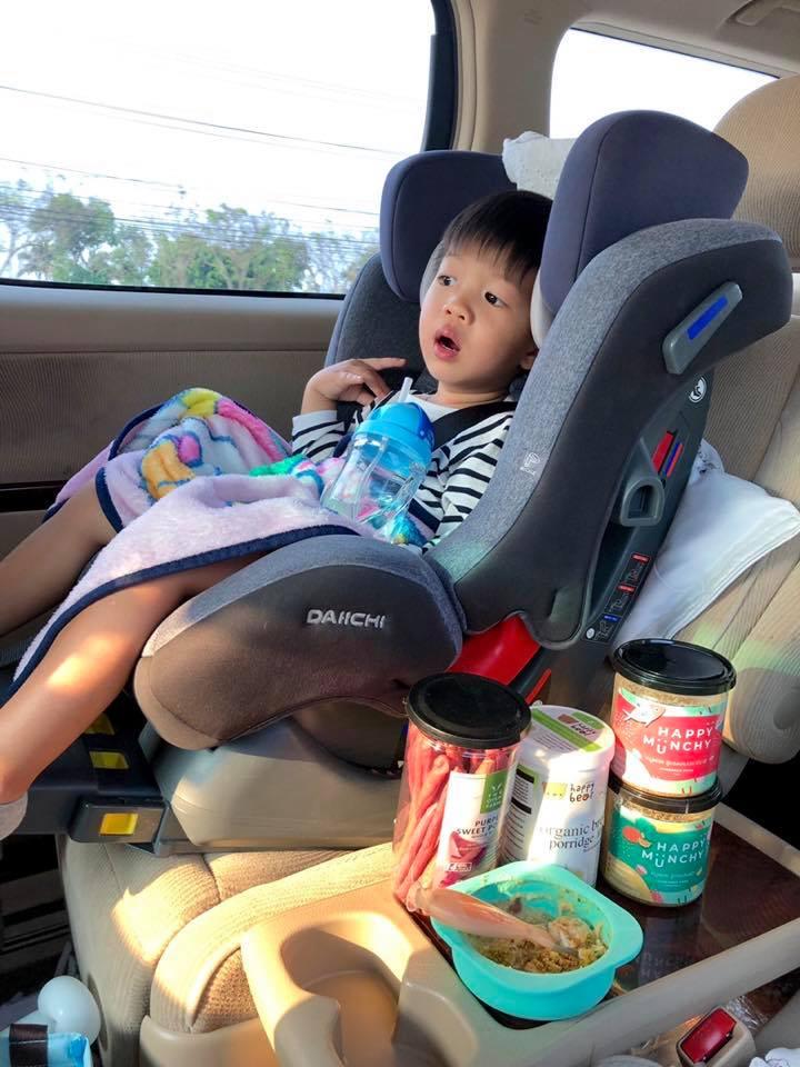 เดินทางพกของกินอะไรง่ายๆมีประโยชน์ให้ลูกดี