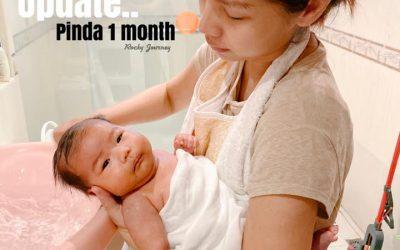อัพเดทเด็กหญิงอายุ 1 เดือนที่ผ่านมา น้องพินดา