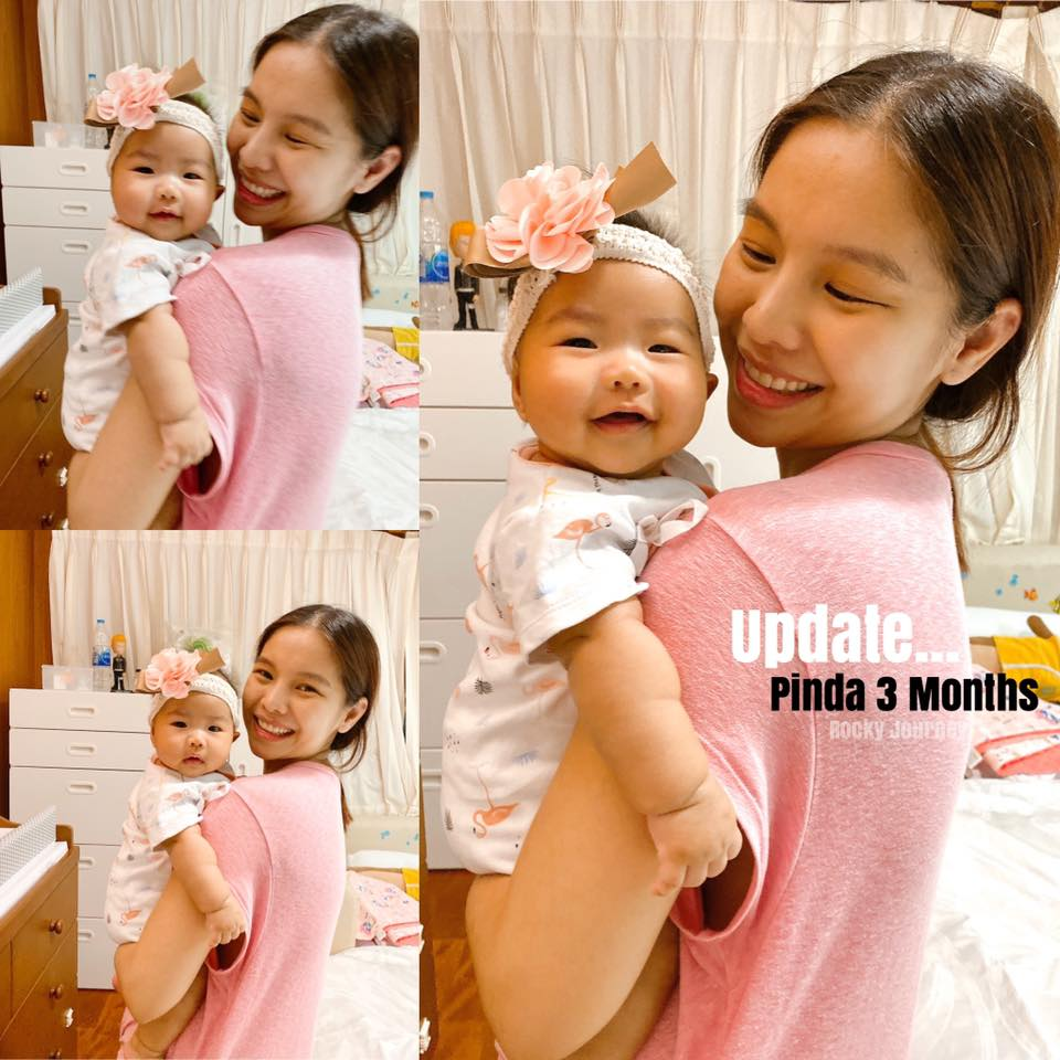 อัพเดทอายุ 3 เดือน (น้องพินดา)