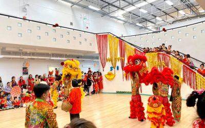วันนี้มีกิจกรรมตรุษจีนที่โรงเรียน ตามภาษาโรงเรียนอินเตอร์ในแบบไทย-จีน-ฝรั่ง