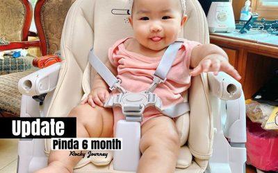 อัพเดทเจ้อายุ 6 เดือน (น้องพินดา)
